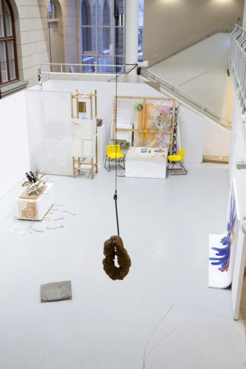 Terrarium, Förstaårsutställningen på Kungl. Konsthögskolan 2021. Mellanrummet