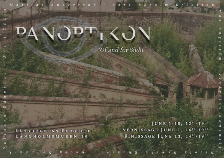 PANOPTIKON: 'Of and for Sight'